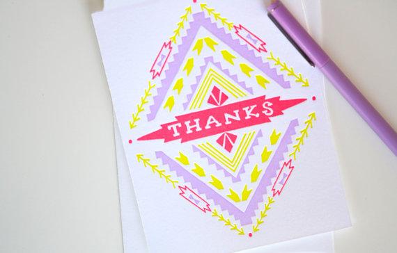 thank-you-card-etsy-khaki-and-chrome-printerettepress