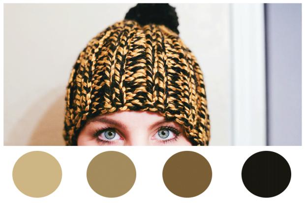 friday-palette-make-it-monday-khaki-and-chrome-black-and-gold-beanie